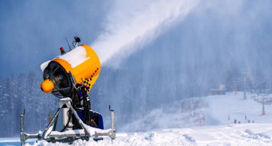 ARTIFICIAL SNOW MAKING